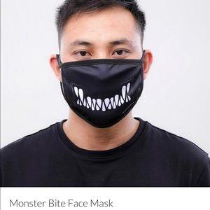 Black Pyramid Face Mask